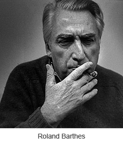 the death of the author by roland barthes essay Roland barthes wrote a famous essay called the death of the author sorry to break it to you, roland, but you're dead, too sorry to break it to you, roland, but you're dead, too oh, sorry, you didn't mean that kind of dead.